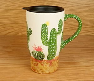 Riverside Cactus Travel Mug