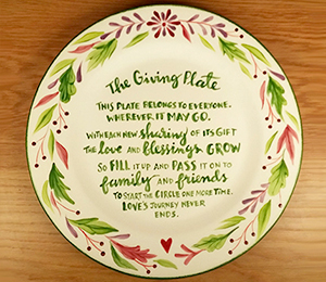 Riverside The Giving Plate