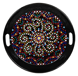 Riverside Mosaic Mandala Tray