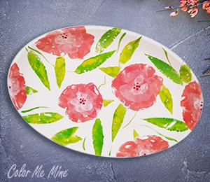 Riverside Floral Paper Stamping